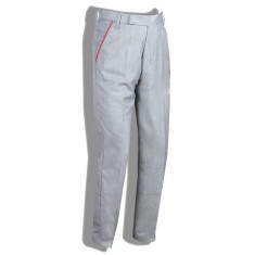 Grey Elastic Full Pant