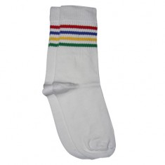 SCOTISH SOCKS CTN/LYC SPT (U)_White