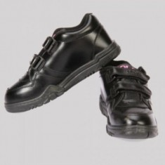 Gola Black Velcro School Shoe