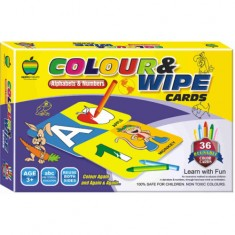 Apple Fun Colour & Wipe Alphabets & Numbers Sr.