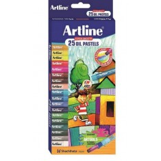 Artline 25 Oil Pastels