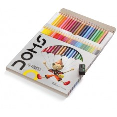 Doms 24 Color Pencils