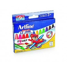 Artline Jumbo Wax Crayons (Big)