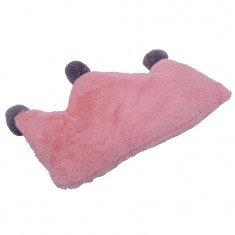 CROWN PLUSH FUR CUSHION