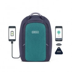 Carriall Columbus smart anti-theft laptop backpack with bluetooth functionality