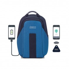 Carriall vasco smart anti-theft laptop backpack with bluetooth functionality