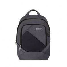 Carriall Minikin Black Smart Laptop Backpack with charging port