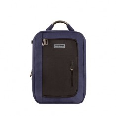 Carriall Minch Blue & Black Smart Laptop Backpack with charging port