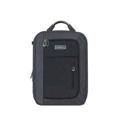 Carriall Minch Black Smart Laptop Backpack with charging port