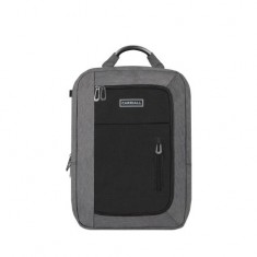 Carriall Minch Grey & Black Smart Laptop Backpack with charging port