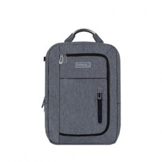 Carriall Minch Grey Smart Laptop Backpack with charging port