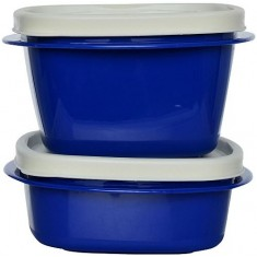 Cutting Edge Snap Tight Food Storage Container Blue, Set Of 2, Electric Blue