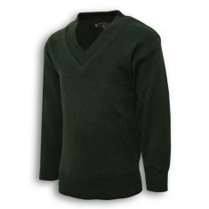 Green Full Sleeve Sweater