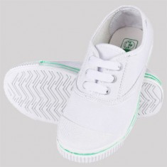 Rex Tennis School Shoes White