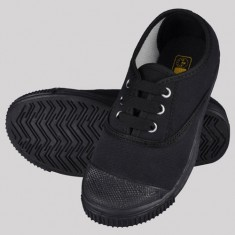 Rex Tennis School Shoes Black