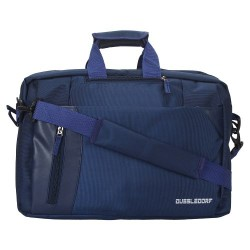 Dussle Dorf Polyester Navy Blue 3 Way 15.6 Inch Laptop Backpack