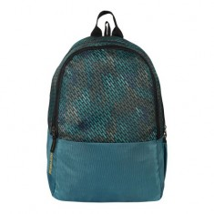 Dussle Dorf Polyester 25 Liters Laptop Backpack (Turquoise)