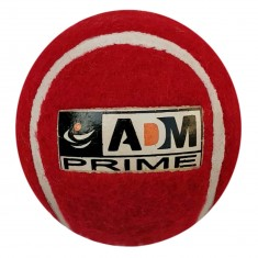 ADM Heavy Cricket/Tennis Ball T20, Pack of 6 (Red)