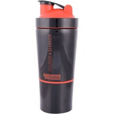 Srishti Trading Dublin Durosteel Stainless Steel Shaker, 750 Ml (Red+Black color)
