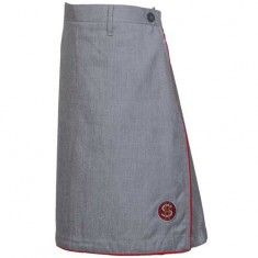 SCO NEW SKIRT U/S BACK EL _GREY