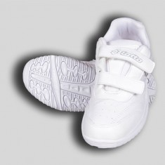 Lotto White Velcro Shoe