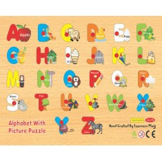 Alphabet With Picture Puzzle