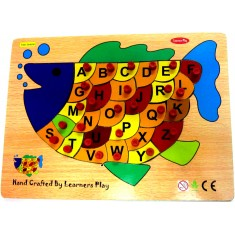Alphabet on Fish Puzzle