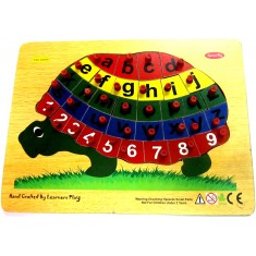 Alphabet Lowercase & Numbers Tortoise