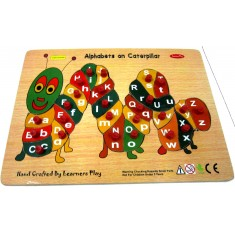 Alphabet Upper & Lowercase Caterpillar