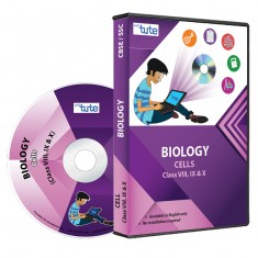 Letstute Biology Chapter: Cells For Class VIII, IX & X (DVD)