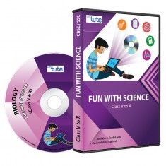 Letstute Fun with Science For Class V to X (DVD)