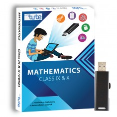 Letstute Math Class IX and X Combo Pack (CBSE) (Pen Drive)