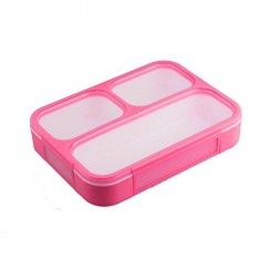 Lunch Box(Fibre BPA Free Grid Lunch Box)