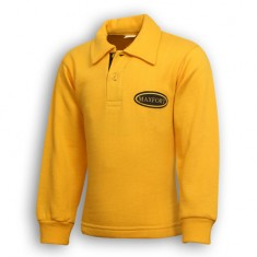 Yellow Sweat-Shirt With Coller
