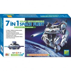 Ekta 7in1 Solar Kit Rechargeable Space Fleet DIY Kit