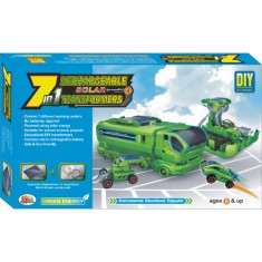 Ekta 7in1 Solar Kit Rechargeable Transformers DIY Kit