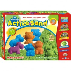 Ekta Active Sand Animals Play Set