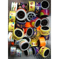 Printed Art & Crafted Assorted Designed Decorative Tape -Pack of 24 pcs