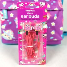 OWL CHARM EARBUDS(Girls)