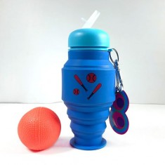 Silicone Bottles Blue(Boys)