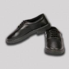 Rex Black Head Boys School Shoe