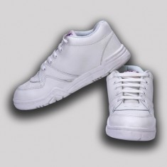 Rex Head Boys White Shoe