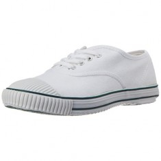 Lakhani's Boy's White Casual School shoes