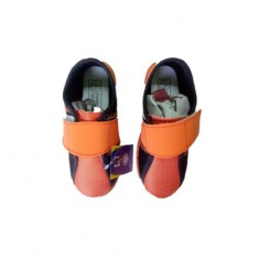 Orange & Black Shoes junior