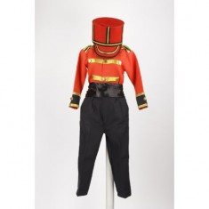 British Soldier - Black & Red