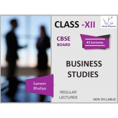 Business Studies XII Class (CBSE Board)SD Card
