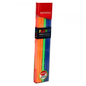 Nataraj Fluro Neon Pencil