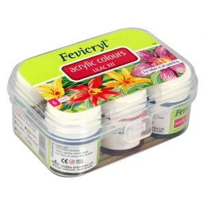 Fevicryl Acrylic Colours Lilac Kit