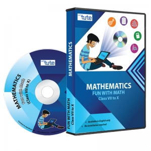 Letstute Fun With Math For Class VII to X (DVD)