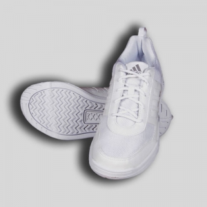 Adidas White Laces Shoe